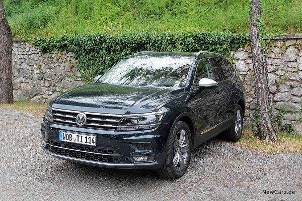 VW Tiguan Allspace schräg vorne