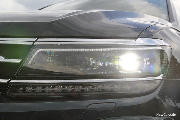 VW Tiguan Allspace LED-Scheinwerfer
