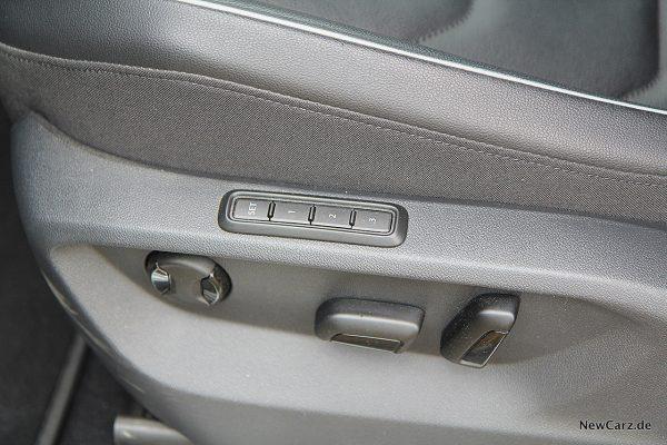 VW Tiguan Allspace Sitzmemory