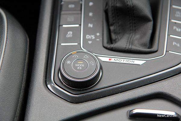 VW Tiguan Allspace Fahrmodi