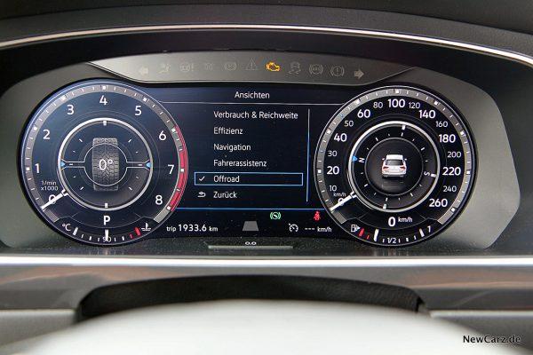 VW Tiguan Allspace Multiinfodisplay