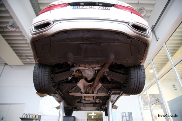 BMW 730d xDrive Unterboden