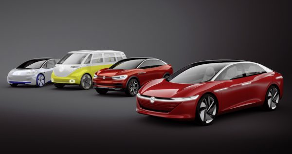 VW ID-Familie Konzepte