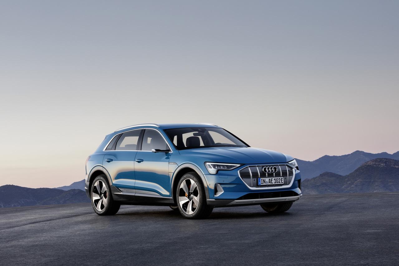 Weltpremiere des Audi e-tron
