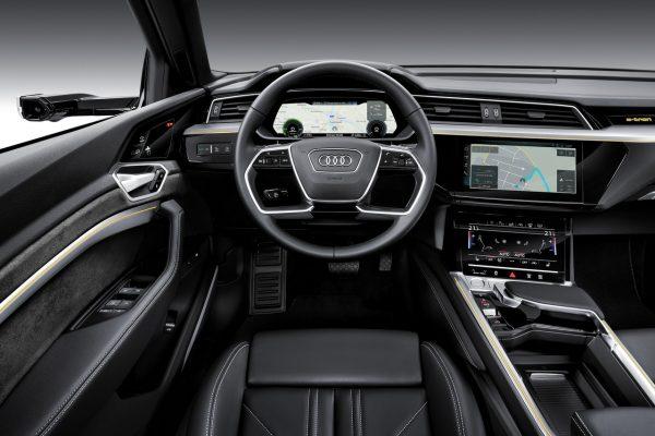 Interieur des Audi e-tron