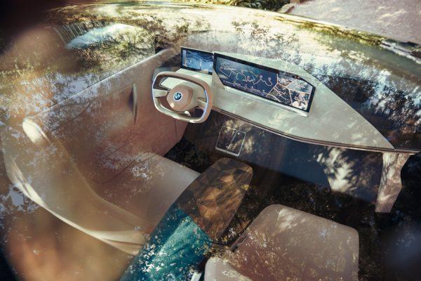 Interieur des BMW Vision iNext
