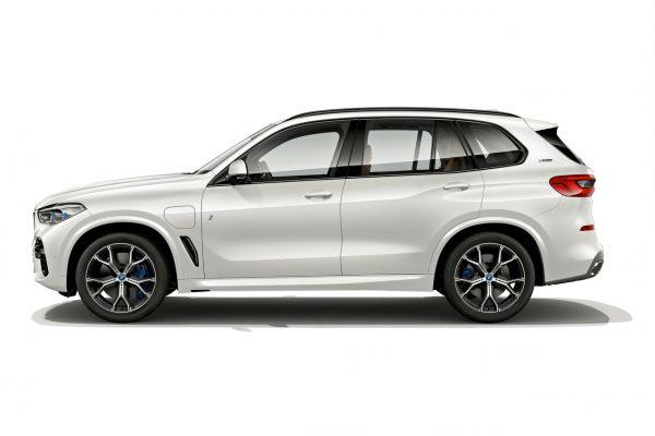 Seitenansicht des BMW X5