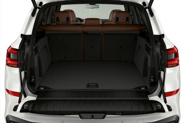 Koferraum des neuen BMW X5
