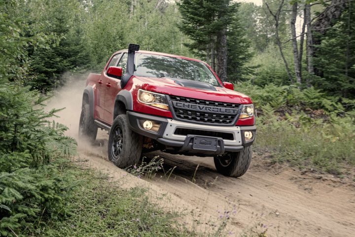 Performance-Pick-up - Der Chevrolet Colorado ZR2 Bison