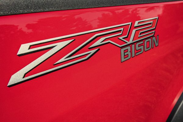 Logo des neuen Chevrolet Colorado ZR2 Bison