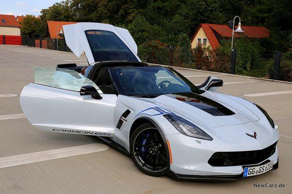 Corvette C7 Grand Sport Carbon 65 offene Türen