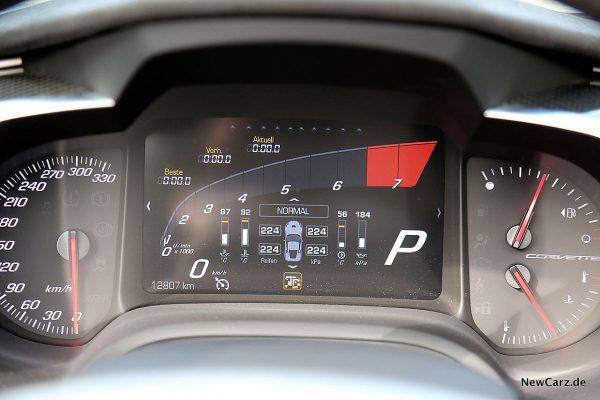Corvette C7 Grand Sport Carbon 65 Track-Modus
