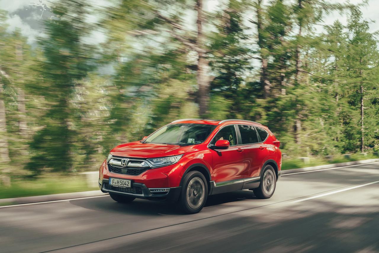 Der Honda CR-V kommt als Hybrid