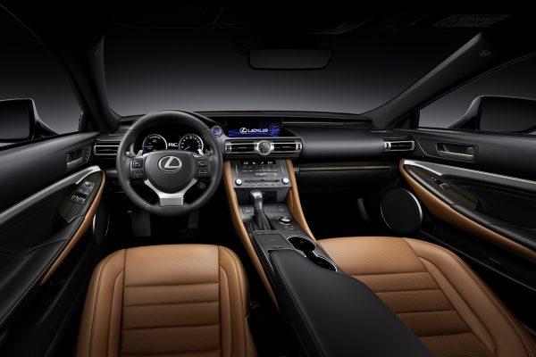 Innenraum des Lexus RC