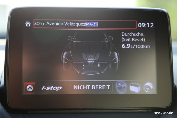Mazda CX-3 Verbrauch