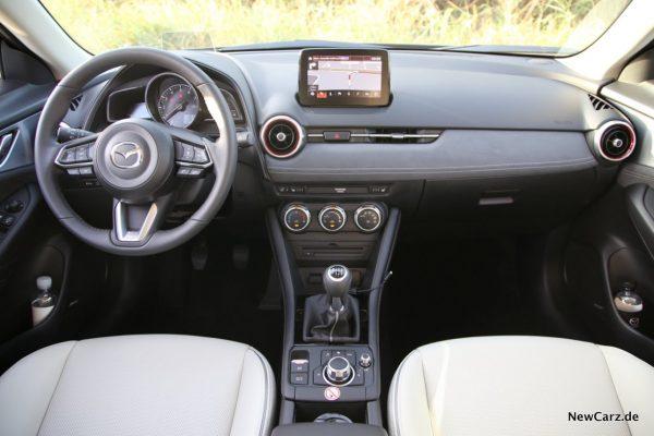 Mazda CX-3 Interieur