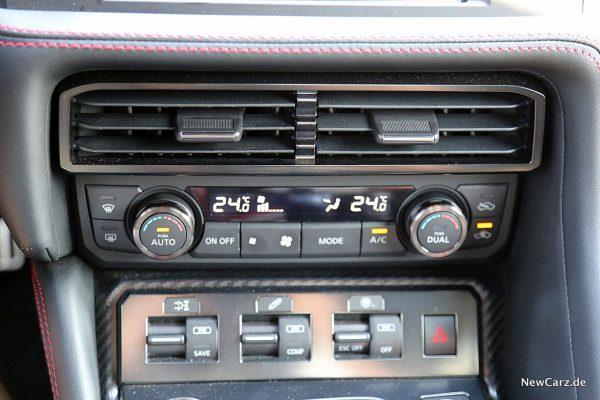 Nissan GT-R Track Edition Klimaautomatik
