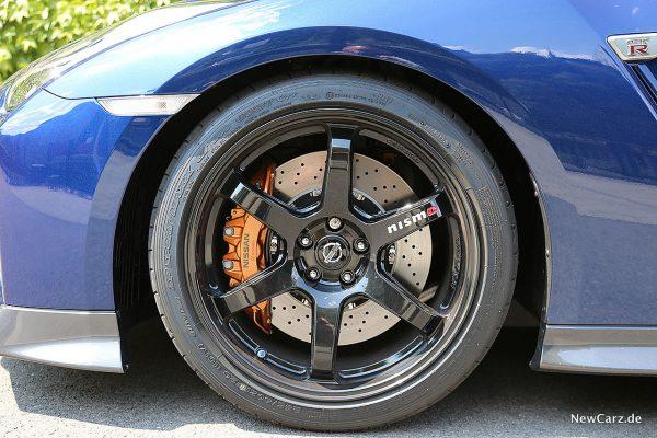 Nissan GT-R Track Edition Nismo-Räder
