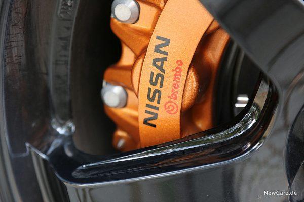 Nissan GT-R Track Edition Brembo Zange