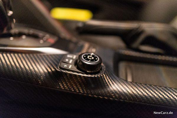 Nissan GT-R Track Edition Mittelkonsole Karbon