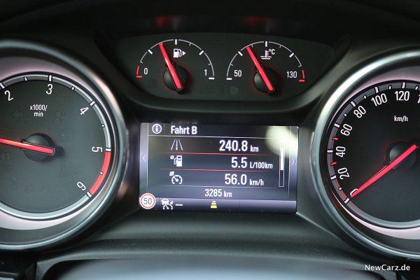 Opel Astra Sports Tourer Verbrauch