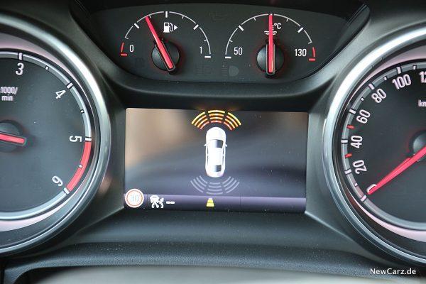 Opel Astra Sports Tourer Parksensoren
