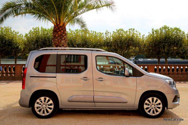 Opel Combo Seitenansicht