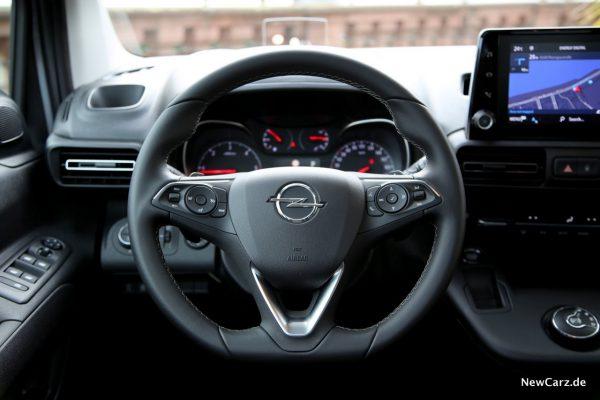 Opel Combo Lenkrad Leder