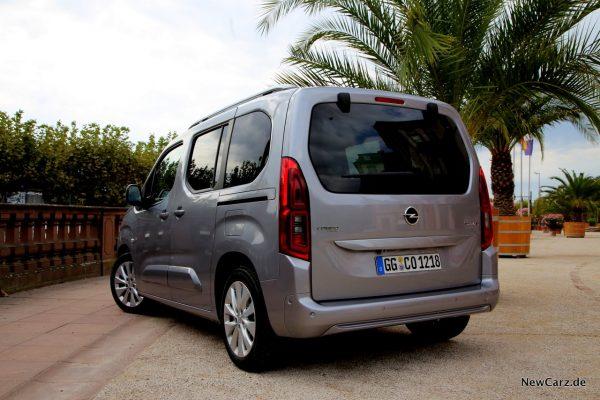 Opel Combo Heckansicht