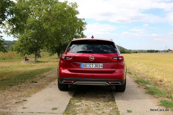 Opel Insignia Country Tourer Heck
