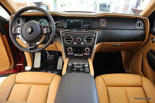 Rolls-Royce Cullinan Armaturenbereich