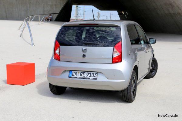 Seat Mii Ecofuel hinten