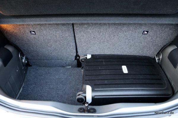 Seat Mii Ecofuel Kofferraum