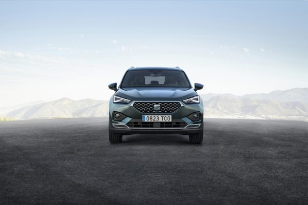 Frontansicht des Seat Tarraco