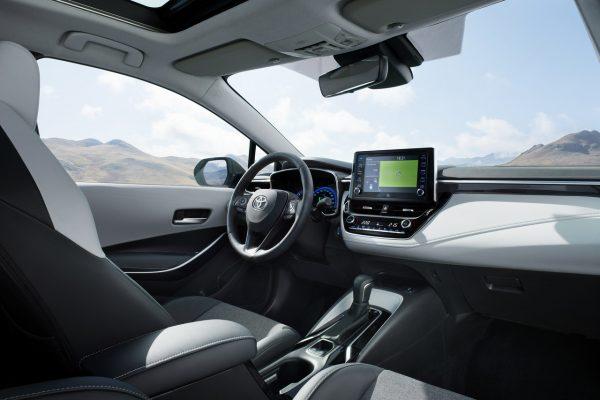 Innenraum des Toyota Corolla Touring Sports