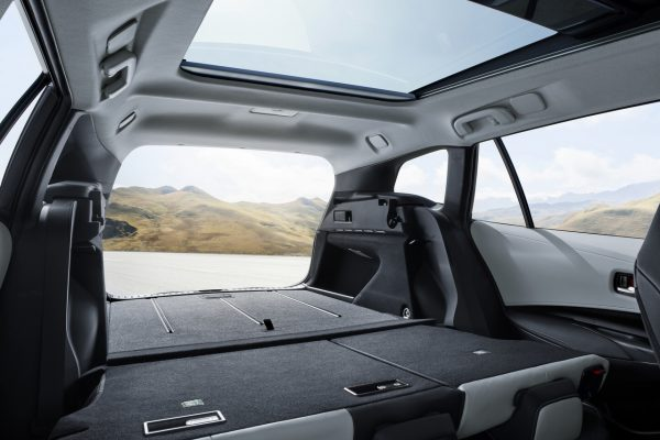 Kofferraum des Toyota Corolla Touring Sports