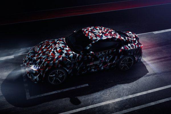 Aus der Vogelperspektive: Der Toyota Supra A90