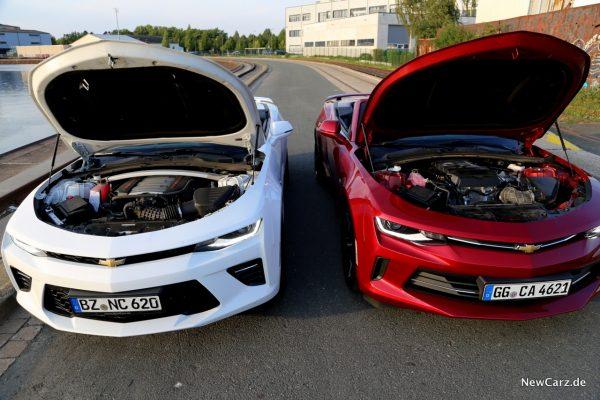 Chevrolet Camaro Motoren