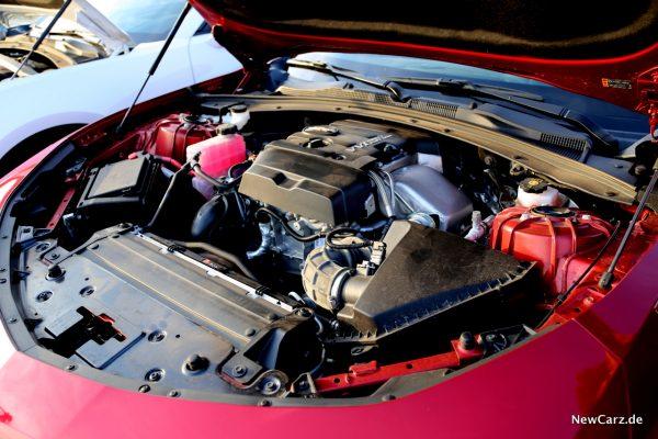 Chevrolet Camaro Turbo Motor