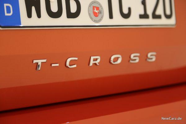 Volkswagen T-Cross Schriftzug