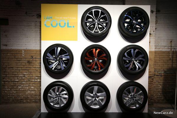 Volkswagen T-Cross Räder