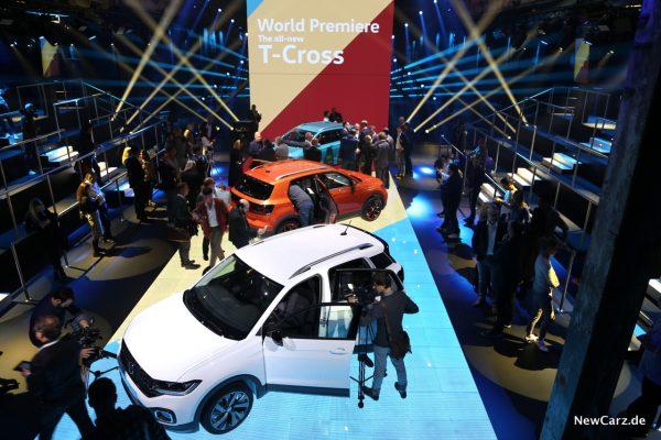 Volkswagen T-Cross Weltpremiere