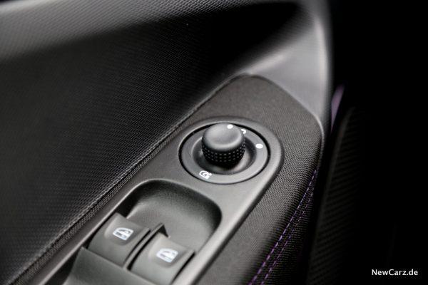 Renault Zoe anklappbare Außenspiegel