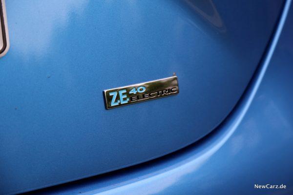Renault Zoe R110 Plakette