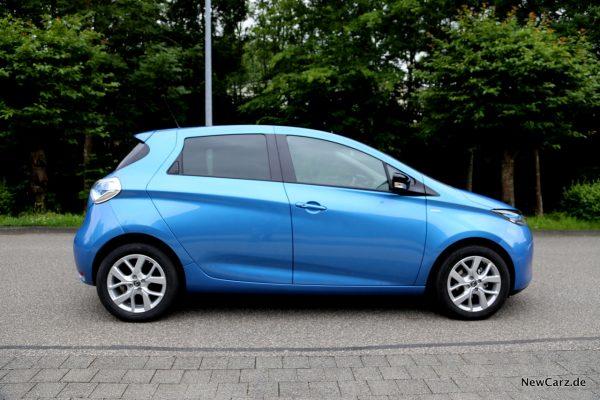 Renault Zoe R110 Seitenansicht