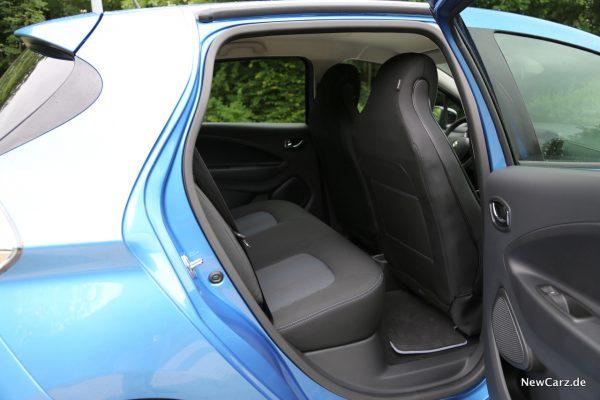 Renault Zoe R110 Rücksitze