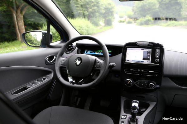 Renault Zoe R110 Innenraum