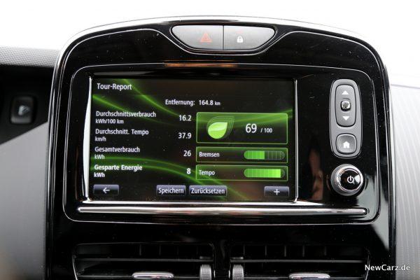 Renault Zoe R110 Verbrauch