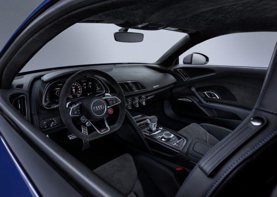 Interieur des Audi R8