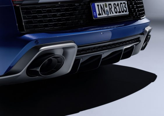 Diffusor des neuen Audi R8